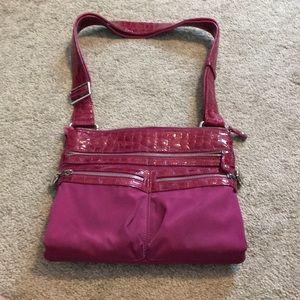 Brighton crossbody nylon purse